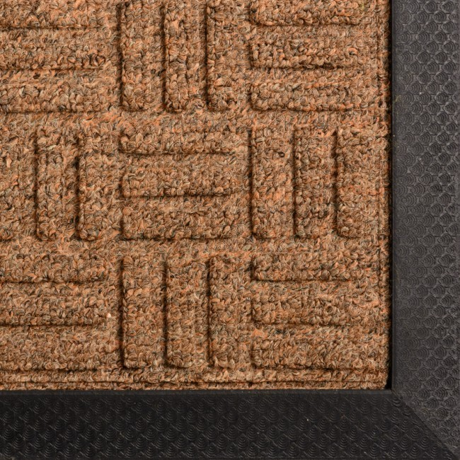 Rubber-united-coloured-entrance-mat-brown-2
