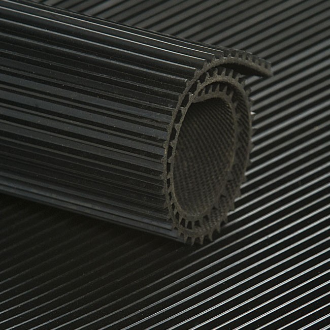 Fine Ribbed Rubber Flooring Rubber United