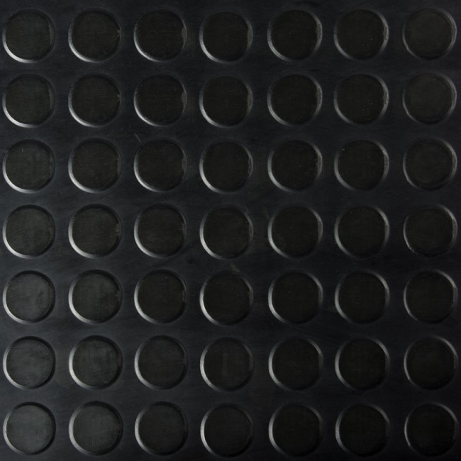 Stud Rubber Flooring Black Rubber United