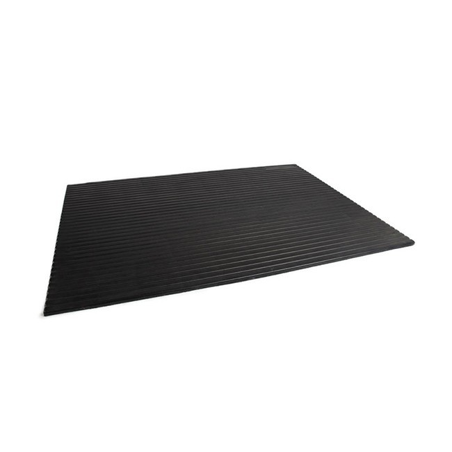 Rubber Threshold Ramp Straight 30mm Rubber United